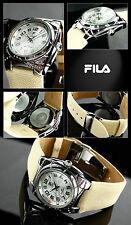 FILA reloj de mujer especial diseño con Coloridas Piedras SIMILI AM Caja ensueño