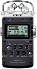 Sony PCM-D50 Linear PCM Recorder 4GB Black Used From Japan Free Shipping ERMI