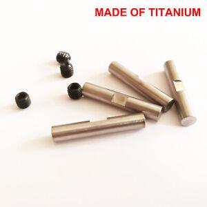 Titanium drive dog pins and screw for HPI rv baja 5b 5T