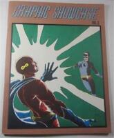GRAPHIC SHOWCASE #2 COMIC FANZINE 1969 BERNI WRIGHTSON MIKE KALUTA STEVE HICKMAN