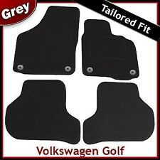 Volkswagen VW Golf Mk6 2008-2012 Fully Tailored Fitted Carpet Car Mats GREY