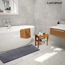LuxUrux Bath mat-Extra-Soft Plush, Absorbent , Large - Bath Shower Bathroom Rug
