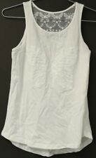 New Tags Girl Kids Children Summer Cotton Guess Butterfly Tank White Size L 14