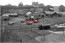 PHOTO  1974 WEST THURROCK CEMENT INDUSTRY SIDINGS IN THE CHALK PIT AT THE LAFARG