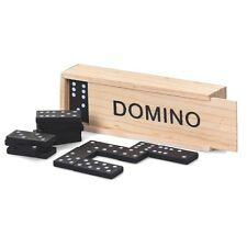 WOODEN SET DOMINOS BOY GIRL TRADITIONAL GAME TOY GIFT CHRISTMAS STOCKING FILLER