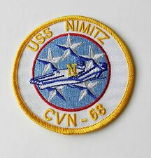 USS NIMITZ US USN UNITED STATES NAVY EMBROIDERED PATCH 3.1 INCHES