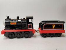 2002 Thomas & Friends Donald + Tender Take N Play Magnetic Diecast Train Engine