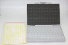 BOXALL SMT resistor storage box Organizer 0603 0805 72 compartments 198 labels