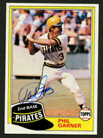 Phil Garner #573 signed autograph auto 1981 Topps Baseball Trading Card