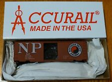 Accurail HO #3437.1 (NP) Northern Pacific (40' PS-1 Steel Boxcar kit) Blt 3-42