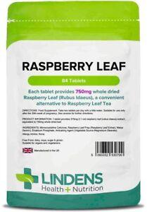 **Lindens Raspberry Leaf Tea 750mg Tablets (84)  Menopause, Hot sweats flushes