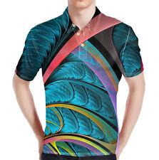 Blue Print Men Basic Tee Stand Collar Shirt Golf Wear Short Sleeve Summer