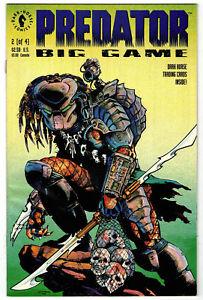 PREDATOR:  BIG GAME  # 2 of 4 - Dark Horse 1991 (fn-vf)