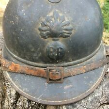ELMETTO FRANCESE MOD 915 ADRIAN WW1 helmet casque elmo 1GM BELLO FRONTE ITALIANO