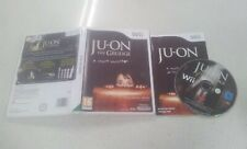Ju-On Ju On The Grudge A Fright Simulator Wii Game USED PAL Region