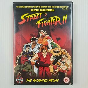 Streetfighter II 2 - The Animated Movie - Anime - R2 UK/Europe - TRACKED POST