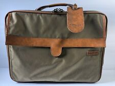 Hartmann Nylon Leather Luggage Briefcase Carry On Overnight