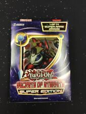 Yu-Gi-Oh TCG Secrets Of Eternity Super Edition Yugioh (1st ed NEW SEALED)