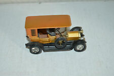 VOITURE PEUGEOT 1907 MATCH BOX BY LESNEY 1969 DIE-CAST YESTERYEAR Y 5