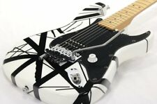 Charvel EVH ART Series Black and White Used Electric Guitar FREE Shipping