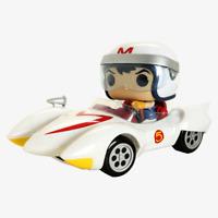 Funko POP! Rides #75: SPEED RACER WITH THE MACH 5 Vinyl Figure & Vehicle
