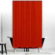 Rideau de douche en tissu uni rouge 240x200 incl. anneaux MADE IN EU 240 x 200