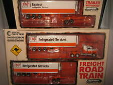 1 64 TNT Refrigerated Services Road Train - Mack Prime Mover Highway Replicas
