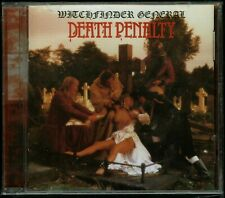 Witchfinder General Death Penalty CD new