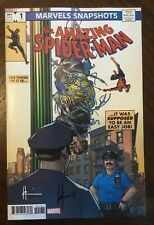 Marvels Snapshots: Amazing Spider-Man #1 AUTOGRAPHED by HOWARD CHAYKIN