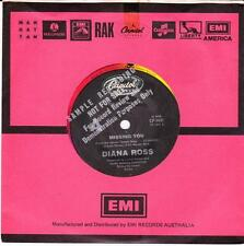 DIANA ROSS (OZ DEMO 45 '84) MISSING YOU b/w WE ARE THE CHILDREN OF THE WORLD