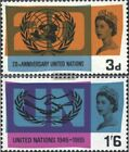 United Kingdom 404-405 (complete issue) unmounted mint / never hinged 1965 Unite