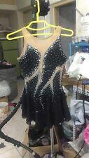 figure skating dresses black ice skating dress women competition skating dress
