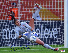 Hope Solo SIGNED 11x14 Photo Soccer Goalie Team USA ITP PSA/DNA AUTOGRAPHED
