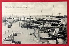AK KOPENHAGEN Kobenhavn um 1910 Tolboden ved Langelinie Hafen  ( 11408