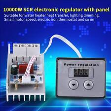 AC 220V 80A Electric Regulator 10000W High Power SCR Motor Speed Controller NEW