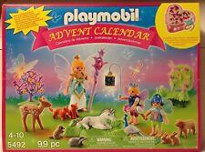 Playmobil 5492 Unicorn Fairyland ADVENT CALENDAR w/Jewelry Box - 99 pcs - NEW