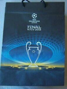 Orig.pocket / bag  Champions League  2017/18 FINAL  REAL MADRID - FC LIVERPOOL !
