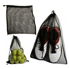 1x Durable Mesh Bag with Sliding Drawstring Cord Lock Closure Stuff Tool Bag