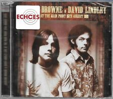 Jackson Browne & David Lindley - Live At Main Point '73- New and sealed live CD