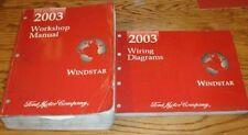 Original 2003 Ford Windstar Shop Service Manual + EVTM Wiring Diagrams Set 03