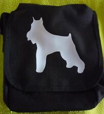 Schnauzer Dog Bag Slight Second - Imperfect, hence low price Shoulder Bag
