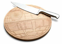 Disney Star Wars Official Deathstar Improved Wood Cutting Board No Exhaust Port