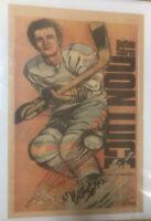 Vintage Buffalo Sabres Poster Don Luce Buffalo News Memorial Auditorium