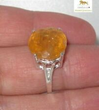 14.39 ct Royal Imperial Topaz Sterling Silver Ring