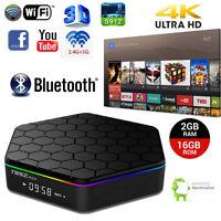 2G+16G 1080P HDMI 3D 4K 2K Octa Core WiFi Bluetooth Smart Android6.0 TV Box