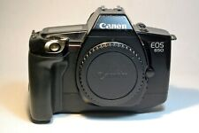 Canon EOS 650 35mm SLR Film Camera Body with cap, functional