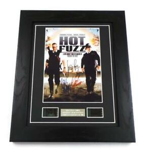 HOT FUZZ Signed PREPRINT HOT FUZZ FILM CELLS MOVIE MEMORABILIA GIFTS SIMON PEGG