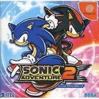 SONIC ADVENTURE 2 II Dreamcast Sega Import Japan Game