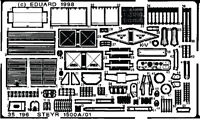 EDUARD 1/35 PE PHOTO-ETCHED DETAIL SET for TAMIYA STEYR 1500A/01