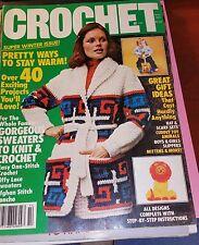 Crochet Winter 1981 Special Winter Issue